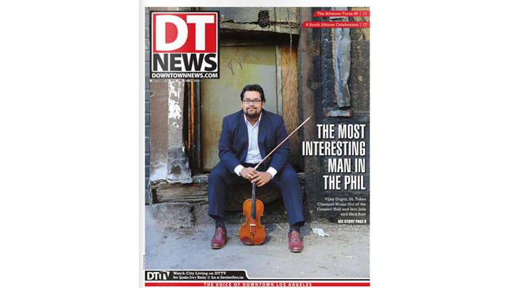"Cover Story: (Robert) Vijay Gupta, ""The Most Interesting Man in the [Philharmonic]"
